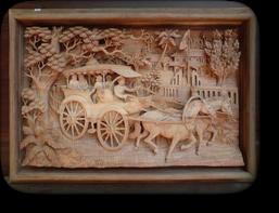 レリーフ No.16 馬車